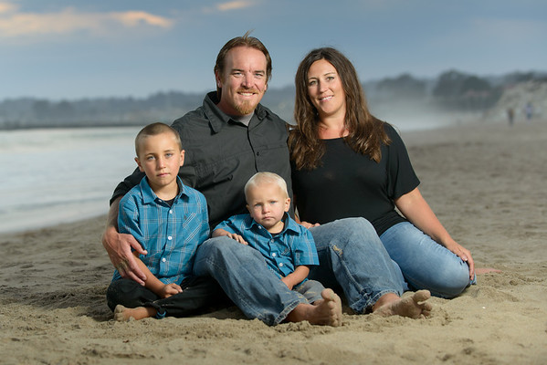 Samantha + Nate = Hayden > Garrett (Family Photography) @ Blacks Beach