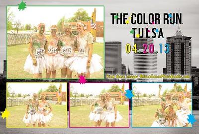 Tulsa Color Run Booth 1,2