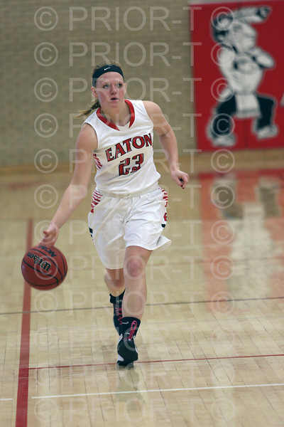 2/12/2014 Eaton Reds Varsity Girl's Basketball vs Valley