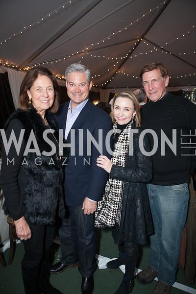 Jeanne Warner, Mark Lowham, Megan Beyer, Rep. Don Beyer