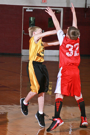 Boys Dixon Gold - Sebree Red 10-27