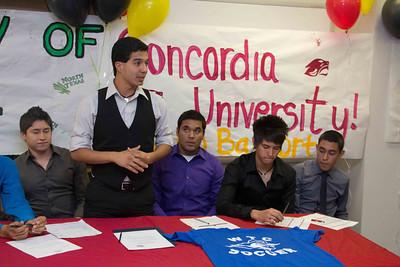 Socorro High School Soccer Signing