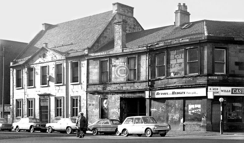 Southwest corner of Charlotte St and London Rd.    January 1974