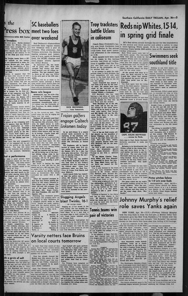 Daily Trojan, Vol. 34, No. 137, April 30, 1943