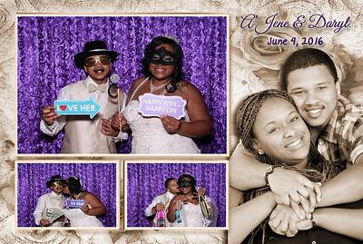 Daryl & A'Jene's Wedding