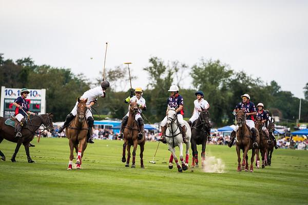 Newport Polo: USA vs England