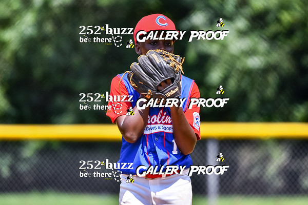Carolina Windows & Doors vs Pepsi, Greenville Little League baseball, August 8, 2020