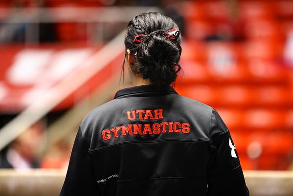U of U Gymnastics - Red Rocks Preview 12-7-2012