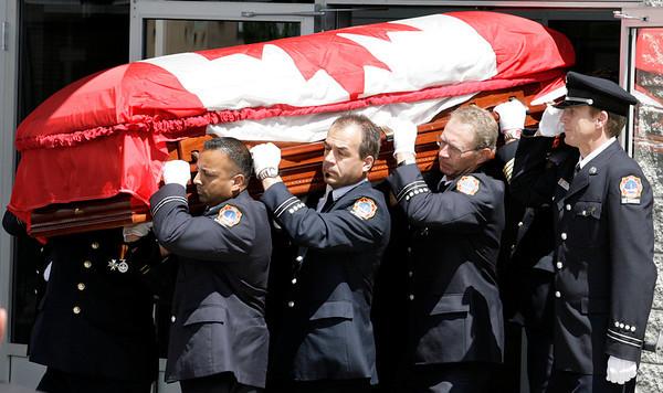 August 15, 2008 - Bob Leak Line of Duty Funeral