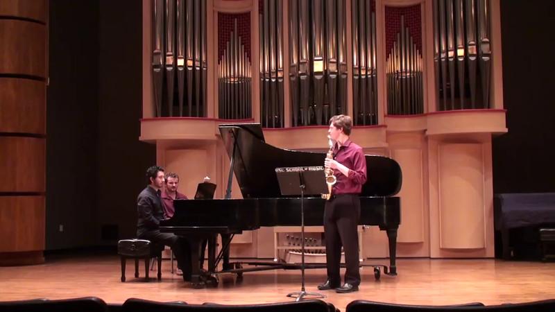 """""""Concerto for Alto Saxophone"""" - Paul Creston (1906-1985)"""