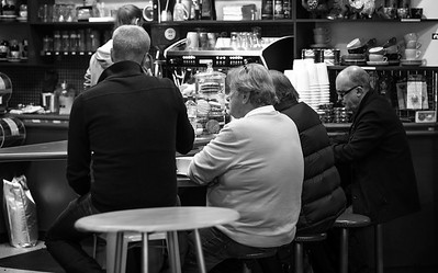 Adelaide Central Market - Monochrom