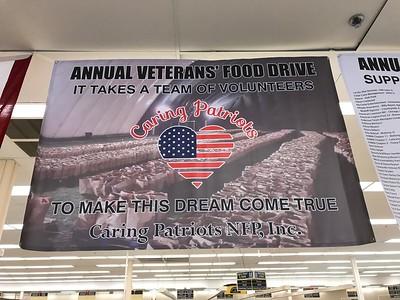 2017-11-17 Caring Patriots Veterans Food Drive