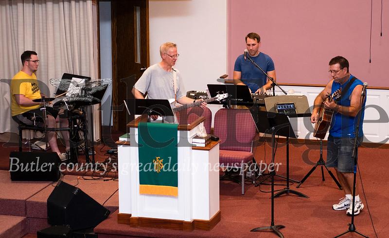 DAN BYLERLY SAXONBURG MEMORIAL PRESBYTERIAN CHURCH