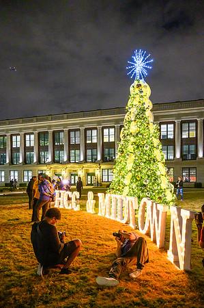 HCC MIdtown 1st Annual Tree Lighting 2019