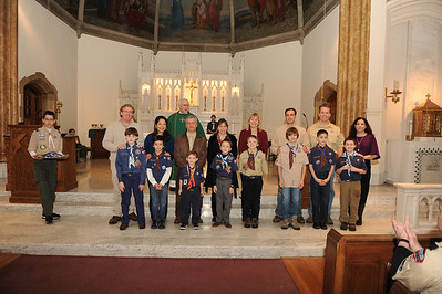 Scout Mass and Dinner