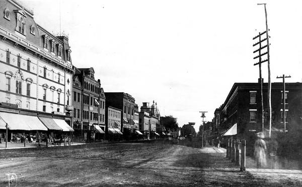 Historic Photos | North Street, Pittsfield, 1800s.