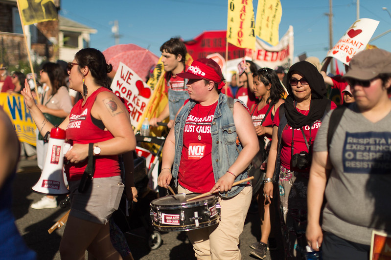 20170501 - 974C6573 -May Day March for Migrant and Worker Rights • Oakland - photographed by Sam Breach 2017 - 2048 short edge.jpg