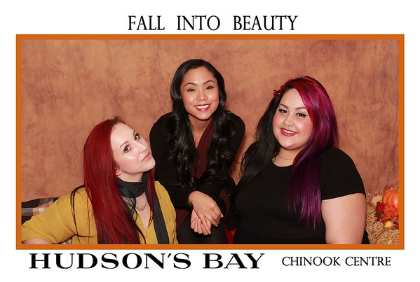 Hudson's Bay Fall Into Beauty Event