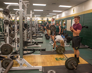 2017-7-12 Weight Room Workouts