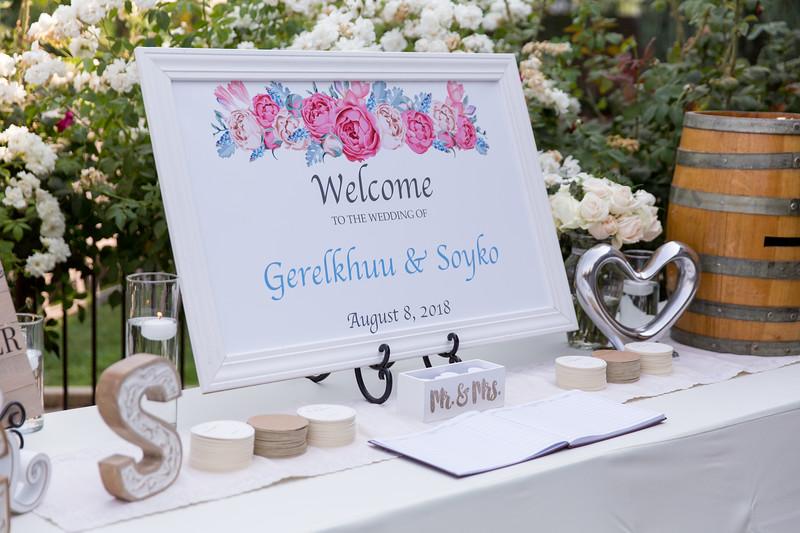Gerelkhuu & Soyko Wedding