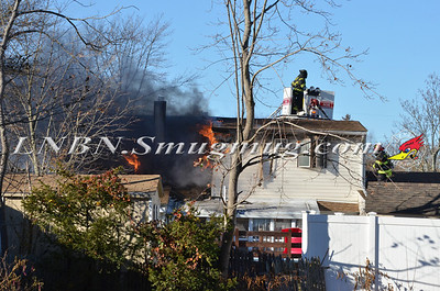 Bellmore F.D. House Fire 105 Belmill Road 11-23-13