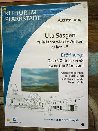 Uta Sasgen - Die Jahre wie dei Wolken gehen...