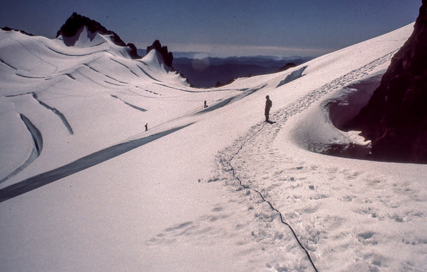 Climbing Mount Olympus Washington, fall 1975