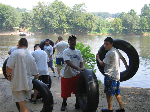 MS Officer Training: Tubing on the James River