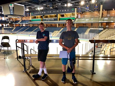 Notre Dame Hockey Camp 2018 - iPhone
