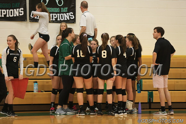 JV VOLLEYBALL VS PANTHERS 08-30-2018