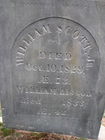 William Scott, Jr. Grave