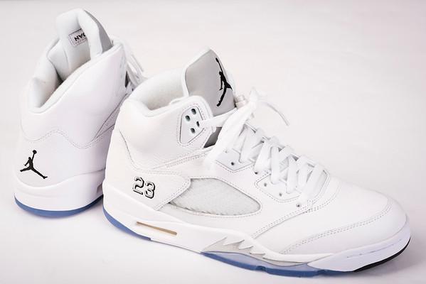Air Jordan Retro 5 White