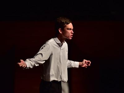 Fielding High School: Hamlet - Act i sc i, iv, v