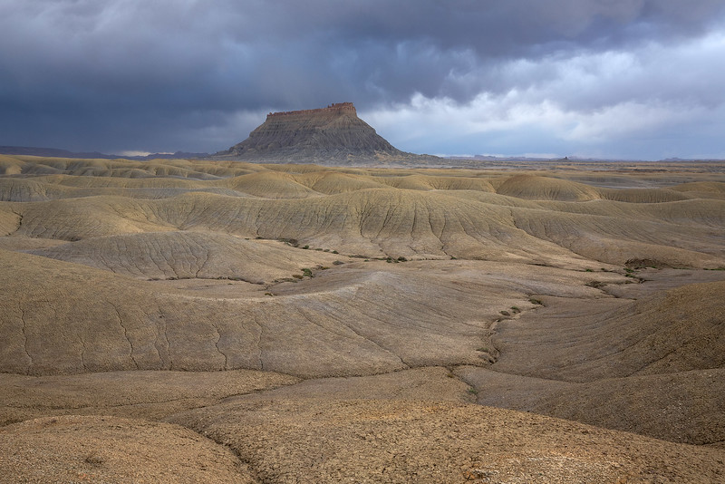 Undulating Badlands