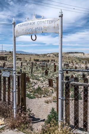 Tonopah, NV Cemetery 2016