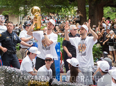 Spurs NBA Championship Celebration