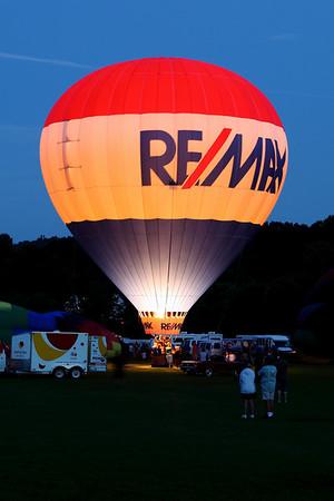 Quechee Balloon Festival - Balloon Glow