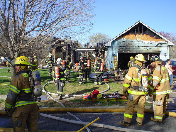 Cattail Road Fire - 2005