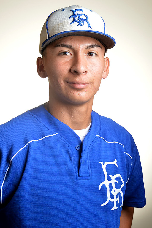 . Esteban Solis from El Rancho High School was selected to the Whittier Daily News All-Area Baseball team on Tuesday June 10, 2014. (Photo by Keith Durflinger/Whittier Daily News)