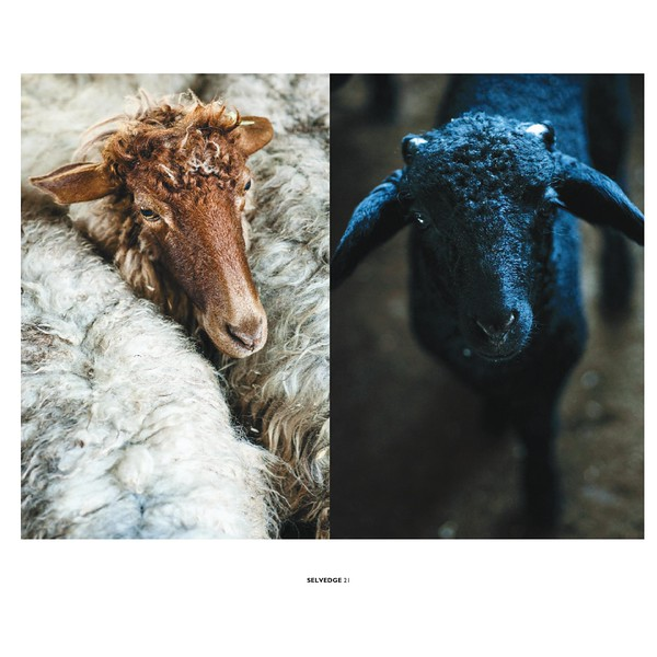 Selvedge Magazine - Issue #84 - Sept/Oct 2018 Text by Anne Laure Camilleri - Photographs by Karine Sehn & Lericia Remião
