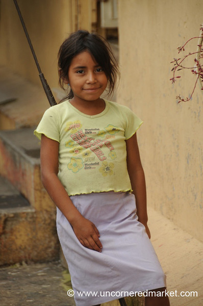 Young Girl - Juayua, El Salvador