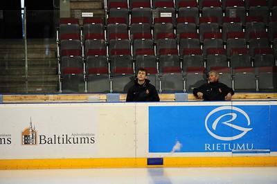 Training Monday 11th April @ Riga