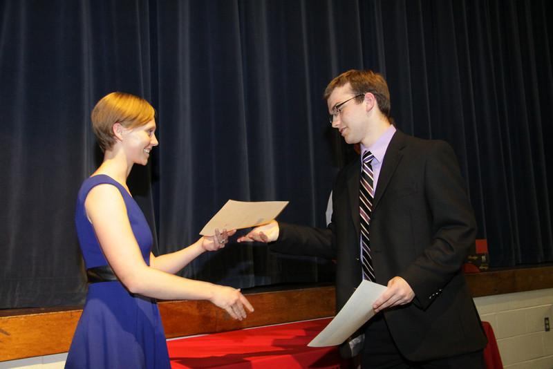 Awards Night 2012 - Phi Beta Kappa Award