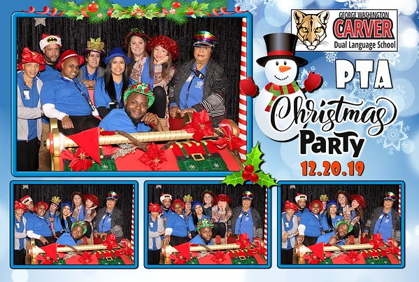 Carver PTA Christmas Party 2019