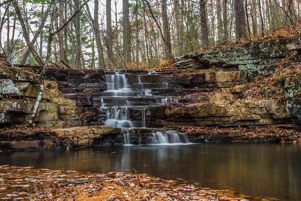 Fenwick Mines Waterfalls, VA