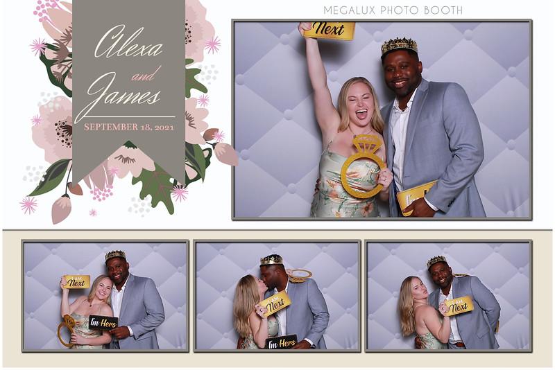 Alexa & James Wedding Prints