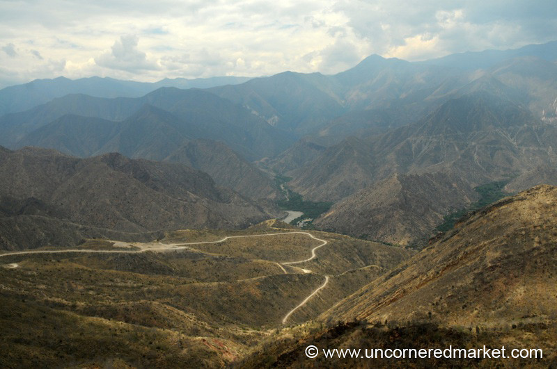 Mountain Roads - Chachapoyas to Cajamarca, Peru