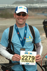 70.3 IRONMAN Finisher. Oceanside, California 2007. TIME: 6:25.