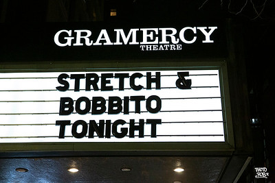 "Stretch Armstrong and Bobbito Garcia + the M19s Band at Gramercy Theatre ""NO REQUESTS"" release"
