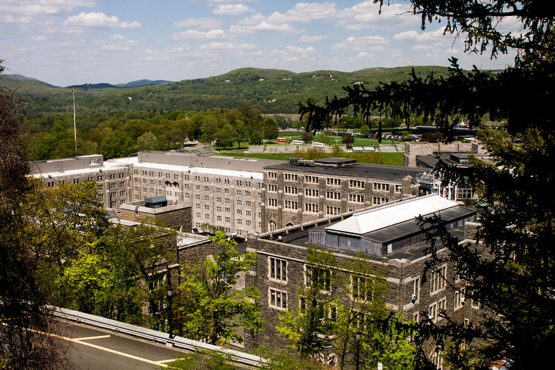 Dorms and classrooms at Westpoint